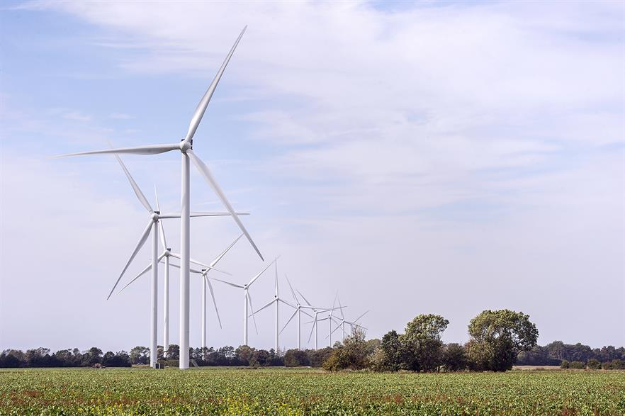 Developers in Denmark will be able to use the latest turbine technology where tip heights are now over 200 metres (pic: European Energy)