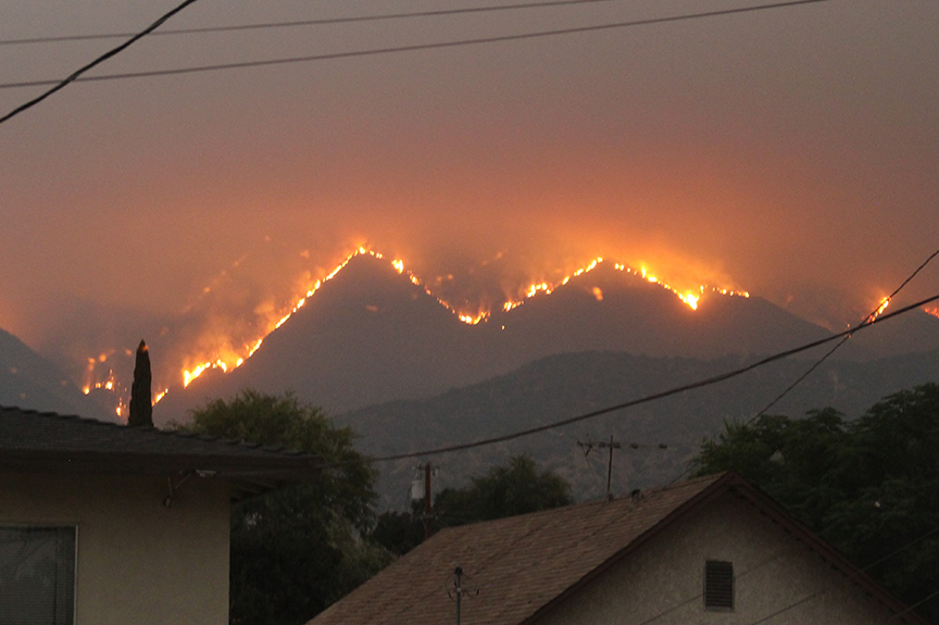 US Nat Cat claims related to wildfires have eclipsed losses caused by windstorms in the last three years (pic credit: Wikimedia Commons/Eddiem360)