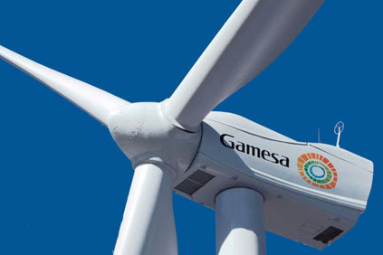 Gamesa sales were up 34% in 2014