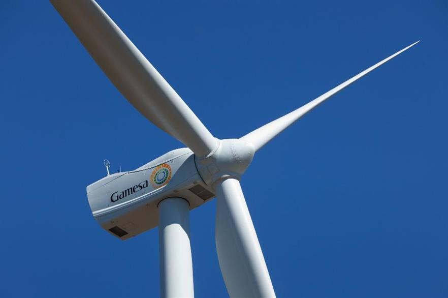 Gamesa's G97-2MW turbine on a 104-metre tower has been designed for the Indian low-wind market