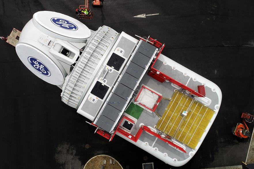 GE's Haliade-X is yet to be installed at a commercial project