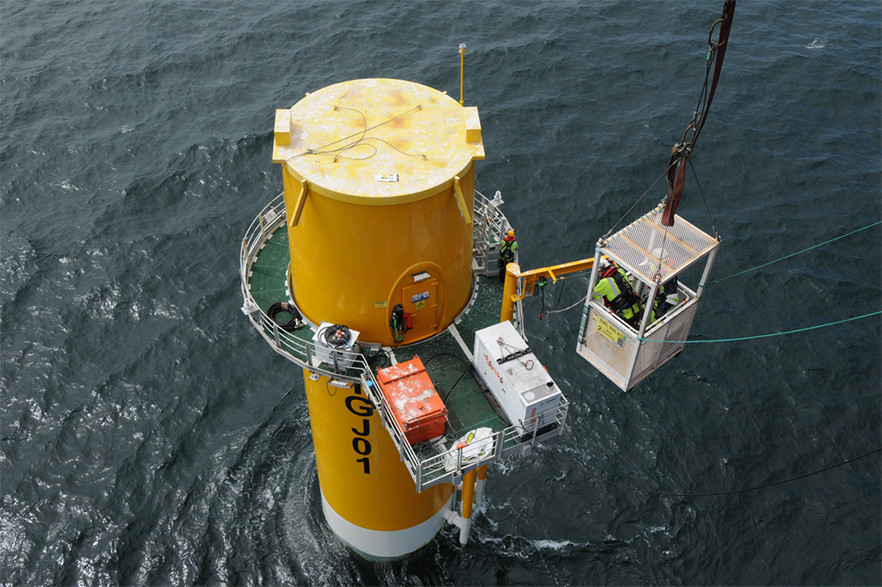 SSE has extensive experience of developing offshore projects in its UK home market (pic: chpv.co.uk/Seajacks/RWE/SSE)