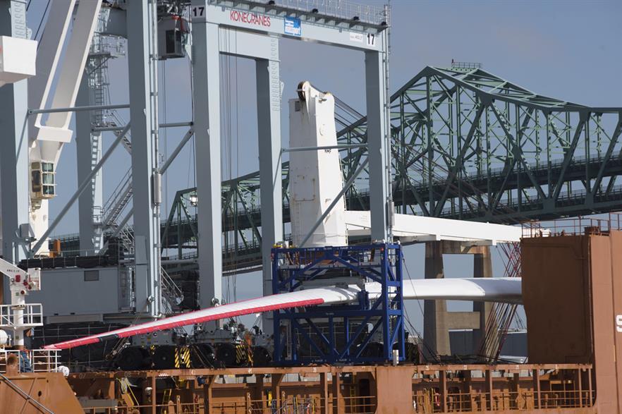 GE Renewable Energy's 12MW Haliade-X turbine features 107-metre blades