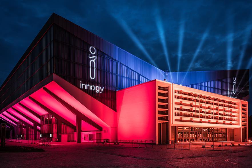 RWE revealed the new Innogy brand in Essen, Germany, in June