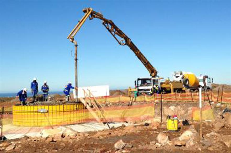 Another Mainstream-led consortium is constructing the Jeffrey Bay wind farm in South Africa