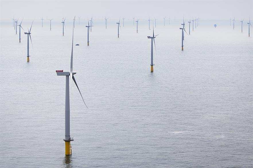 Offshore wind made up over 20% of the UK's total infrastructure spend