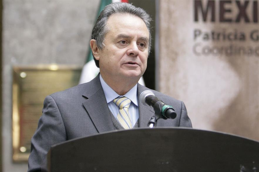 Key supporter… Mexican energy secretary Joaquín Coldwell