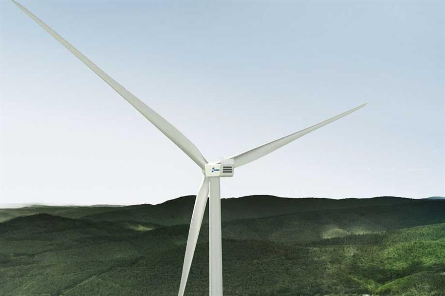 Nordex's new 3MW turbine