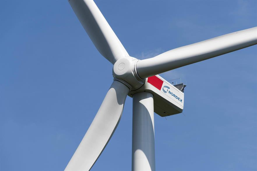 Nordex will supply nine of its N117/3600 turbines for the project