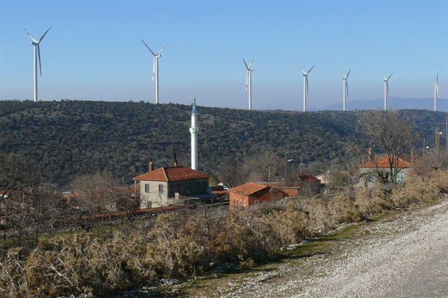 Nordex turbines in Turkey