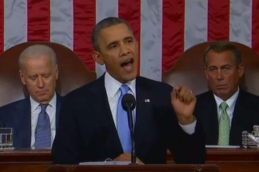 Obama's State of the Union address in 2014
