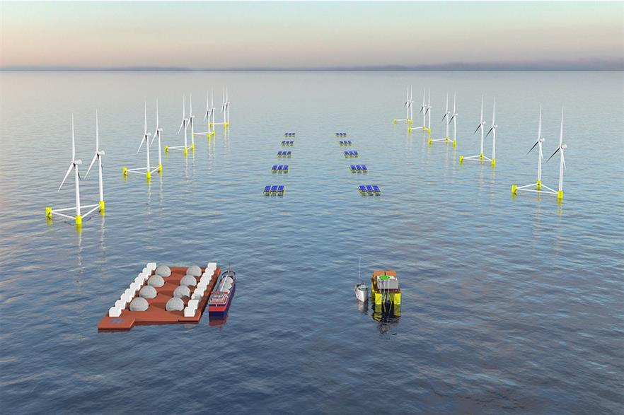 Acciona is to coordinate the OceanH2 industrial research project
