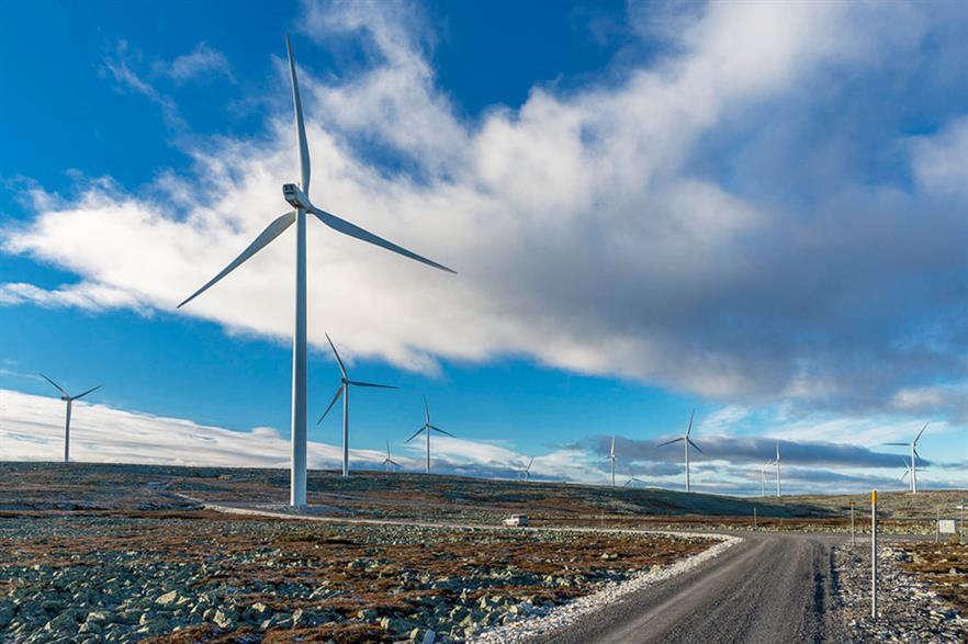 OX2's completed projects include the 90MW Glötesvålen wind farm in Sweden (pic: Jann Lipka/OX2)