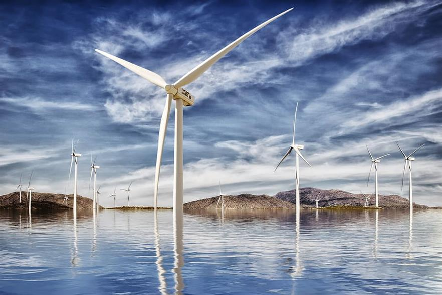 The EU Commission has plans for a 25-fold increase in EU offshore wind energy. (pic: Pxfuel)