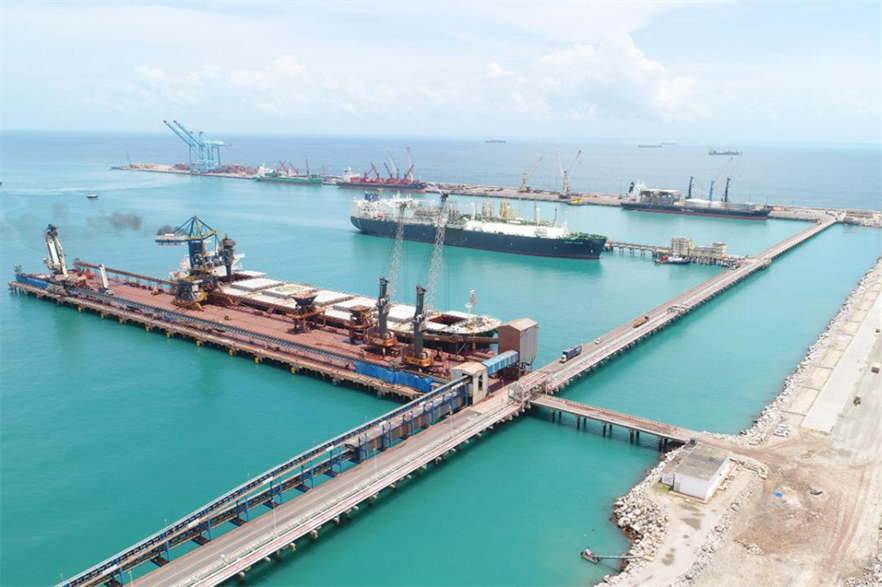 The Ceará state government plans to develop a green hydrogen hub at the Pecém Port Complex (pic: Port of Rotterdam)
