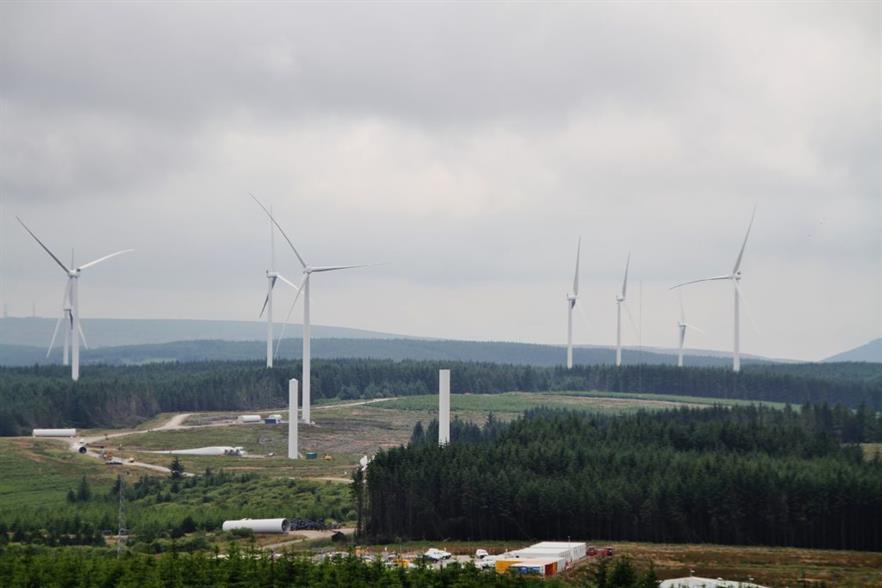 Vattenfall's largest onshore development, the 228MW Pen y Cymoedd wind farm in Wales