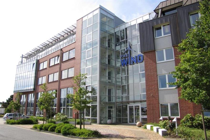 PNE is based in Cruxhaven in Germany