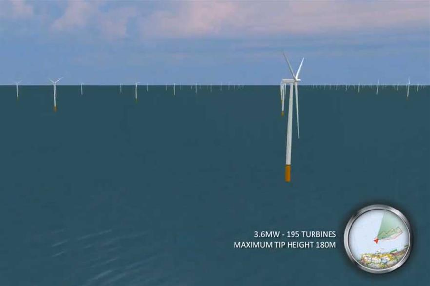 Rampion - planned for southern England