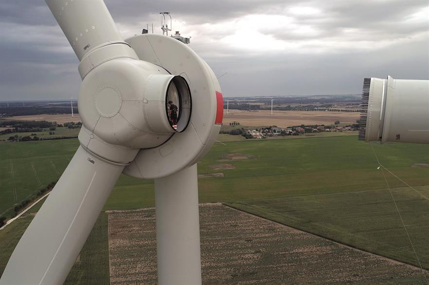 Enercon has installed the EP3 prototype in Germany