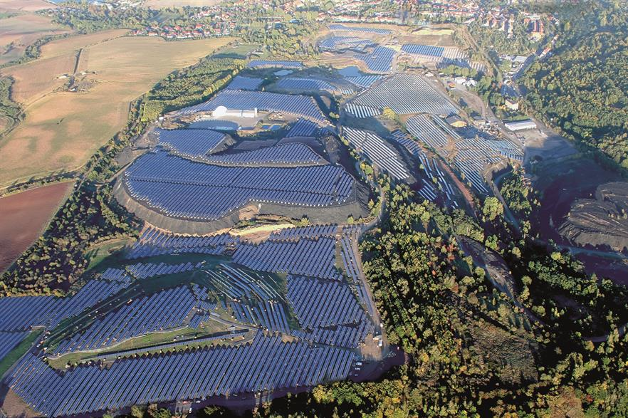 Solar power projects won the full amount available in the first joint-technology tender (pic: Parabel)