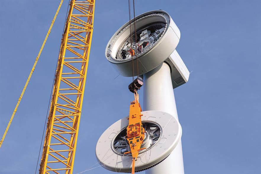 Enercon installed the prototype of its new EP3 platform in the first half of 2019 (pic: Klaas Eissens / Enercon)