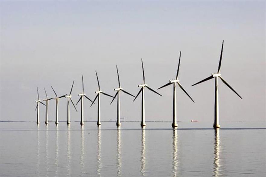 The Samso offshore wind farm comprises ten 2.3MW Bonus turbines