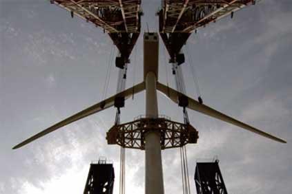 Sinovel's 3MW turbine