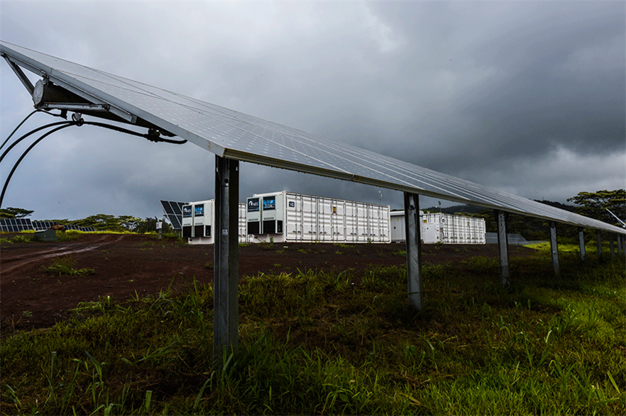 Most solar hybrids in the US are paired with storage (pic: Dennis Schroeder/NREL)