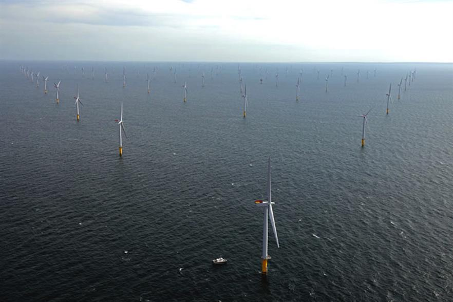 The 317MW Sheringham Shoal project was commissioned in 2012