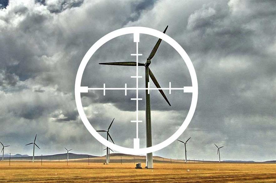 Patent trolls put wind in crosshairs (icon:  HaydenKerrisk.com)