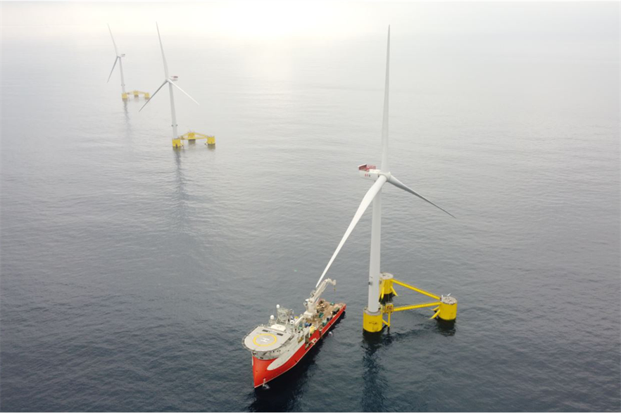 The joint venture includes floating offshore developers who helped deliver the WindFloat Atlantic project (pic: EDPR)