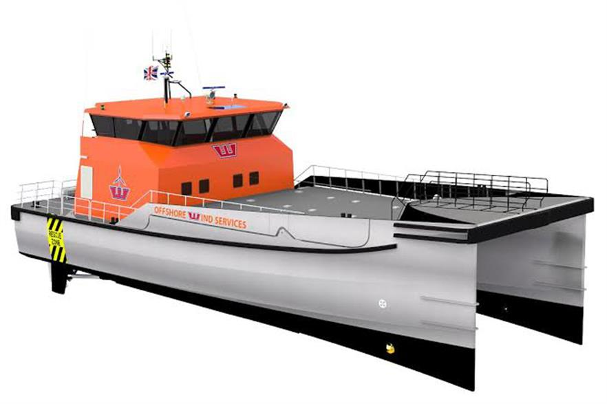 Damen Shipyards' Twin Axe Fast Crew Supplier 2610