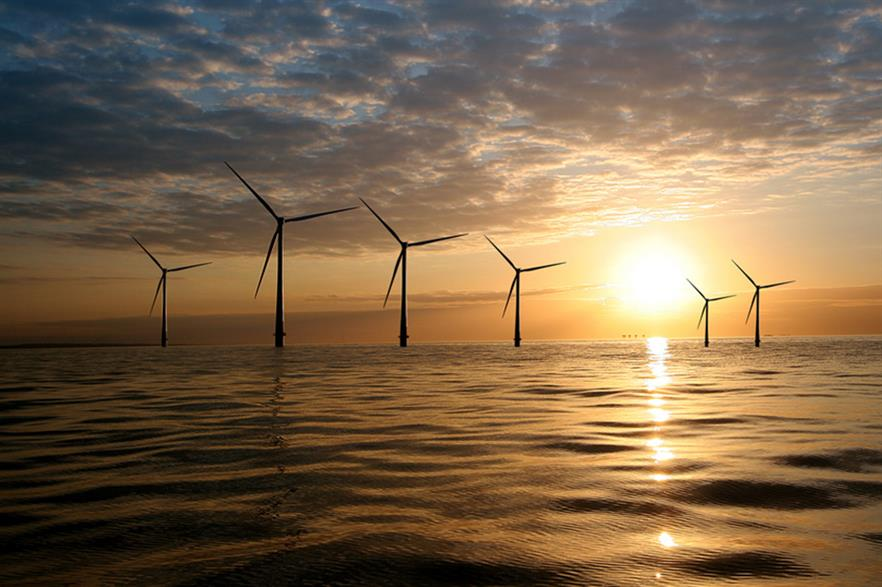Vattenfall's Kentish Flats offshore project — lower wind speeds in the UK and northern Europe are hampering utilities