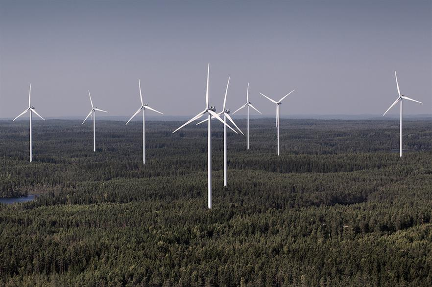 Vestas will supply three of its V112-3.45MW for Tozzi Sud's 38MW Monteverde project in Italy
