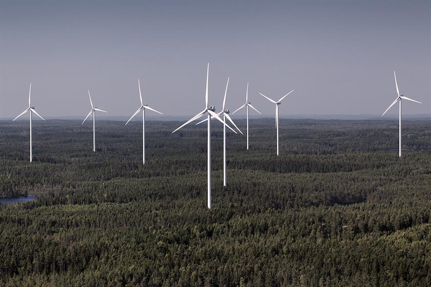 Sweden had the lowest market prices for wind (€29/MWh) in Q3 2020, according to LevelTen Energy (pic credit: Vestas)