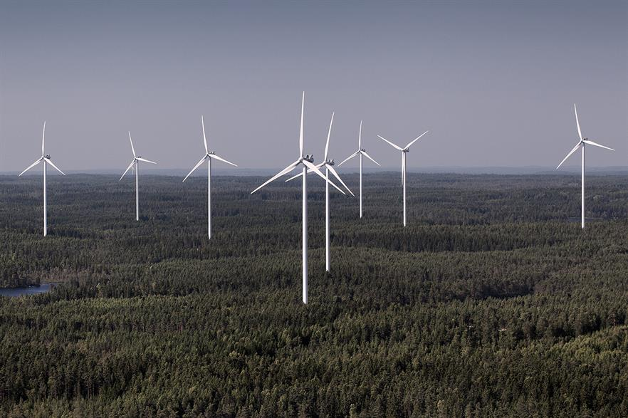 Vestas will merge two of its European sales units from 1 January