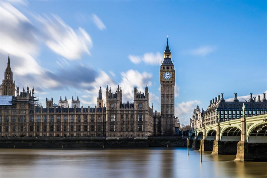 Turmoil in the UK's government has been blamed on the slow down