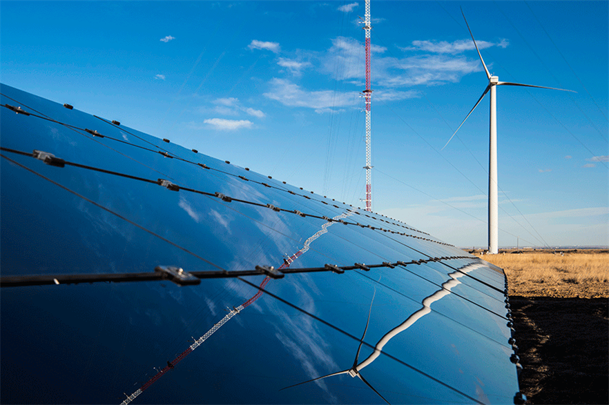Wind power is facing increasing competition from solar photovoltaics (pic: Dennis Schroeder/NREL)