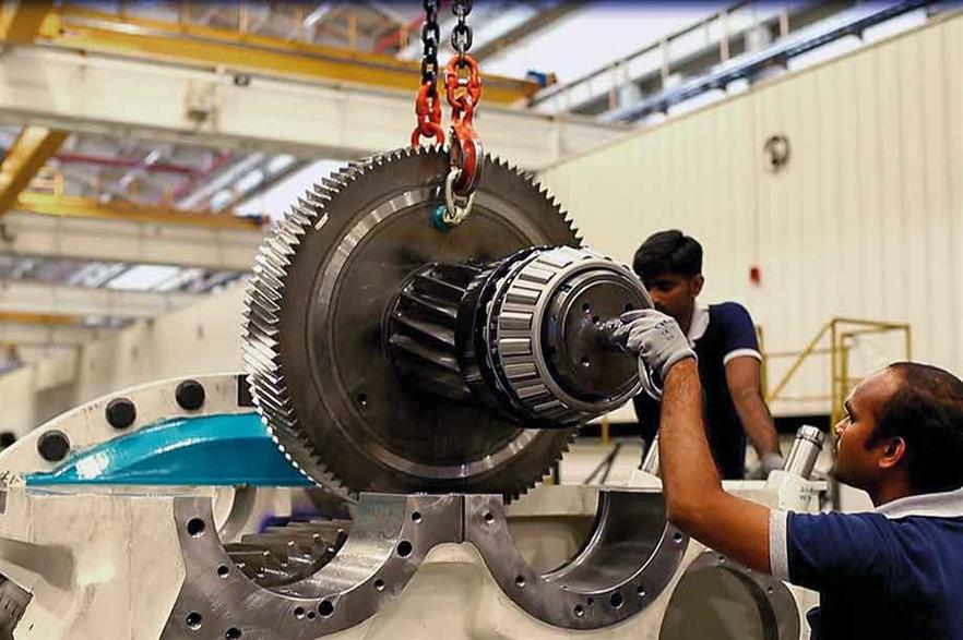 Know-how… Gearbox assembly requires technical skills, and ZF is dedicated to investing continuously in staff training and development