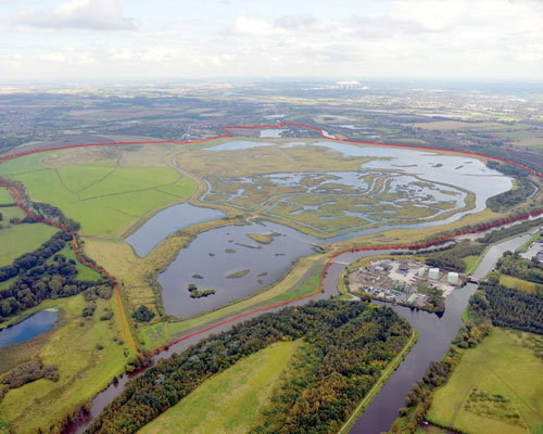 The former opencast coal mine at St Aidans near Leeds has been fully restored. It is now open for activities such as walking, cycling and horse riding. Credit: Harworth Estates