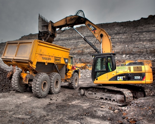 Shotton surface mine. Picture Banks Group