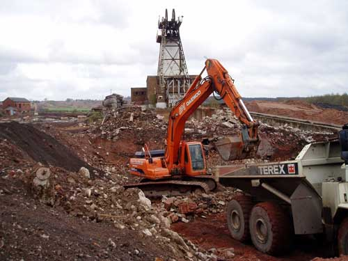 Remediation at Annesley Colliery, East Midlands