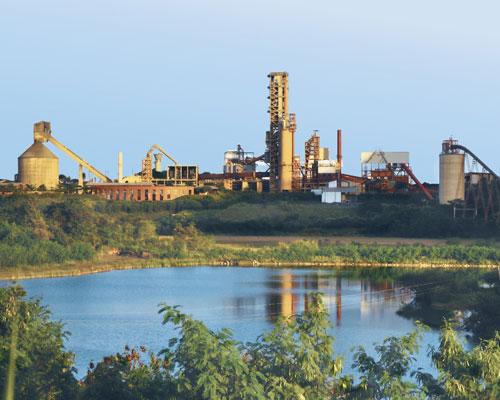 Lafarge's cement plant in Arcos, Brazil. Credit: Lafarge