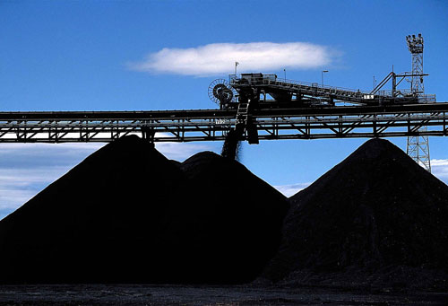 Coal: considered a mineral yet it is in fact compressed peat (Image credit: Vismedia +44 (0)20 7436 9595)