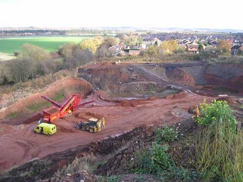 Enville Road Quarry (Image Credit: Staffordshire CC)