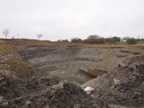 Kingsley Quarry (Image Credit: Staffordshire CC)