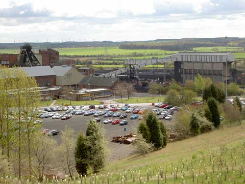 Thoresby Colliery (Image Credit: Nottinghamshire CC)