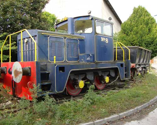 The last remaining quarry train has been sent to the Rocks by Rail muesum by Cemex. Credit: Cemex
