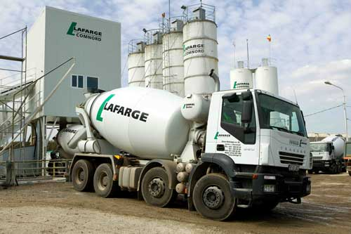 Joint venture: firms waiting on regulatory approval (Image credit: Lafarge Media Center)