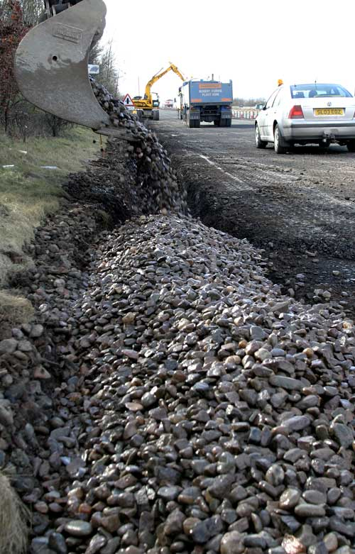 Aggregates: recovery will see demand increase (Image credit: Waste Watch)